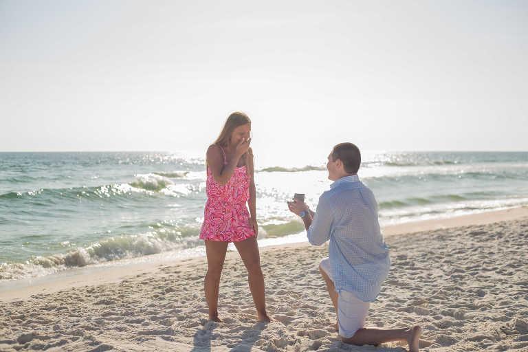 Surprise Engagement Photographer