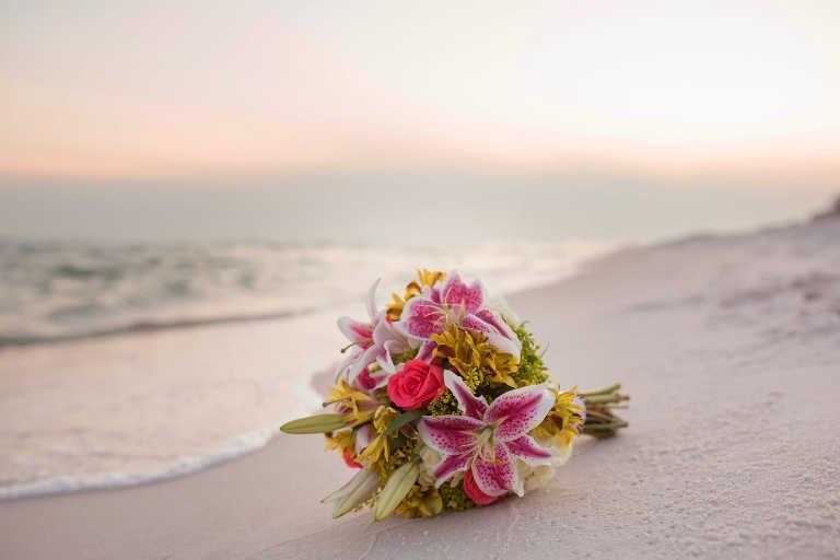 Intimate Beach Wedding Photographer