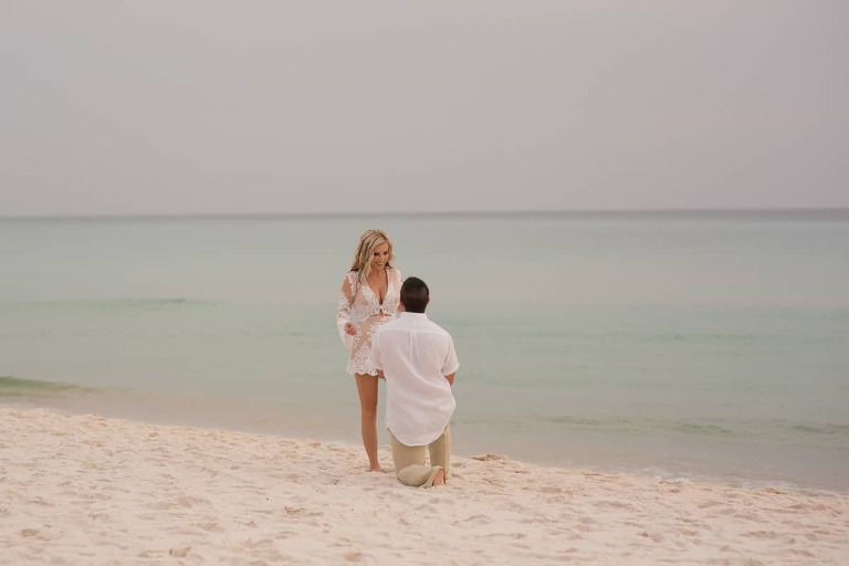 Beach Engagement Photographer